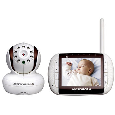 Motorola Remote Wireless Video Baby Monitor