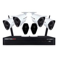 Night Owl 6-Ch 4K Hybrid Security System w/1TB Hard Drive Deals