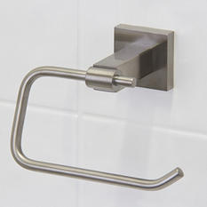 VIGO Allure Square Design Single Post Toilet Tissue Holder in Brushed Nickel