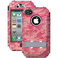 Trident Kraken A.M.S. Case for iPhone 4/4s - Pink Camo