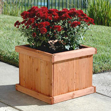"Blue Marble Designs Demi 15"" Square EDIA Planter Box"