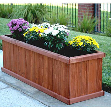 "Blue Marble Designs Magnum 40"" Rectangular EDIA Planter Box"