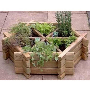 Herb Wheel Raised Planter Bed Kit