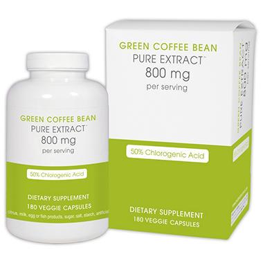 Creative Bioscience Green Coffee Bean Extract 800mg (180 ct.)