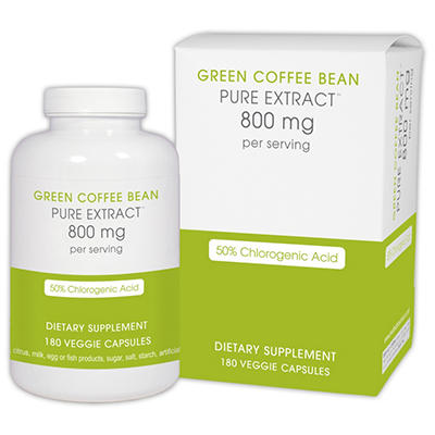 Creative Bioscience Green Coffee Bean Extract 800mg (180 ct.)