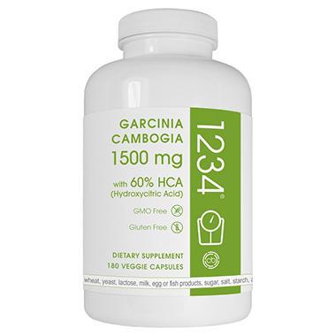 Creative Bioscience Garcinia Cambogia 1234 (180 Capsules)