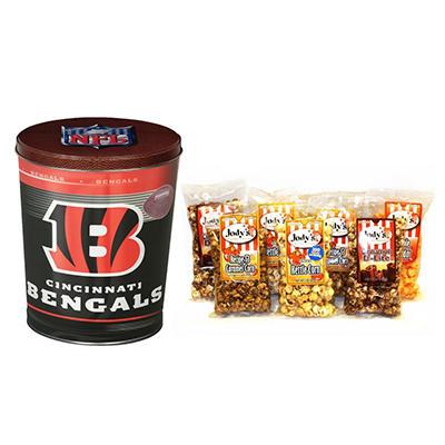 Cincinnati Bengals Popcorn Tin