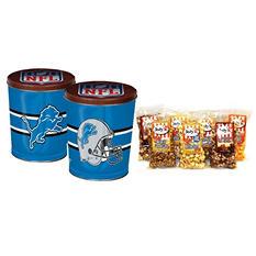 Detroit Lions Popcorn Tin