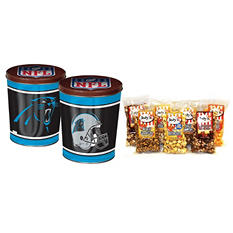 Carolina Panthers Popcorn Tin