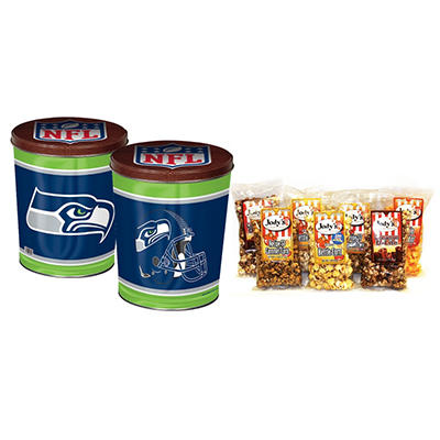Seattle Seahawks Popcorn Tin