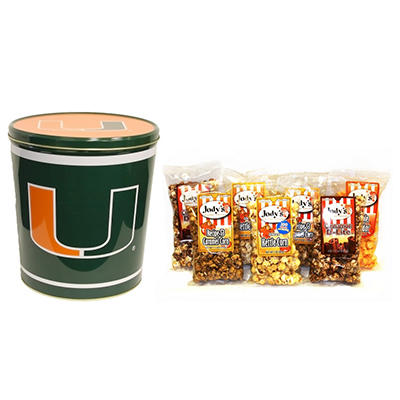 University of Miami Popcorn Tin