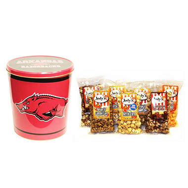 Jody's Popcorn Tin - Choose Your Favorite College Team