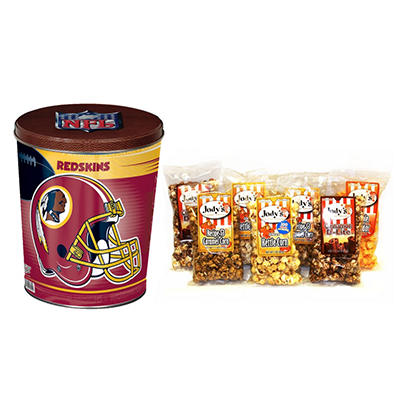 Washington Redskins Popcorn Tin