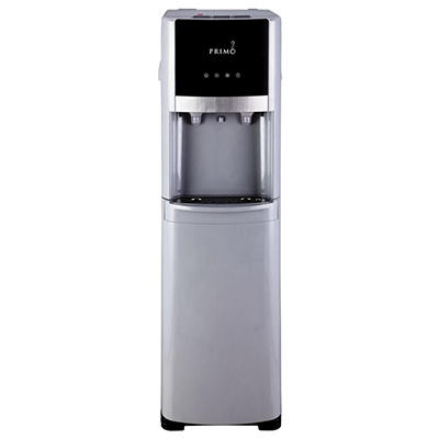 Primo Pro-Select Bottom-Load Hot and Cold Water Dispenser, Silver/Stainless Steel