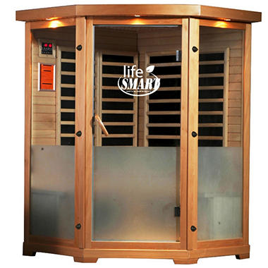 LifeSmart Infracolor 2-3 Person Corner Sauna