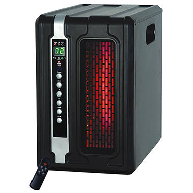 LifeSmart Space Saving Vertical Infrared Heater