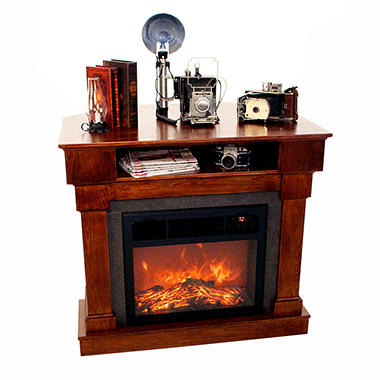 LifeSmart 3-in-1 Media Fireplace