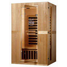 Euro Series 2-Person InfraColor Sauna