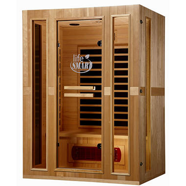 Euro Series 3-Person InfraColor Sauna