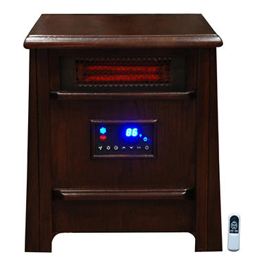 Lifesmart Stealth 8 Infrared Heater - Chocolate Maple