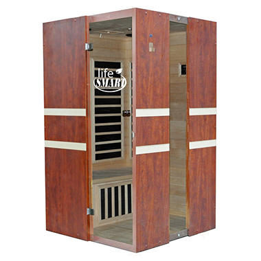LifeSmart Contempo 2 Person Inrared Sauna, Original Price $1699.00 Save $700.00