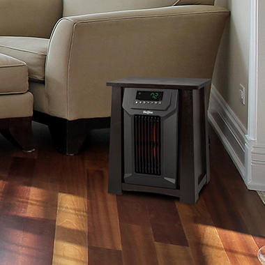 Lifesmart 8 Element Infrared Heater with Oscillating Louvers - Sam's