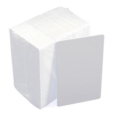 IDVille ID Badge Blank PVC Cards - 100 pk.