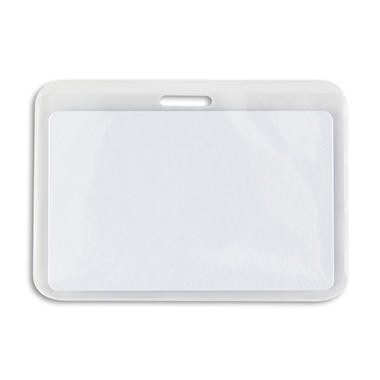 IDVille Economy Horizontal ID Badge Holders - 50 pk.