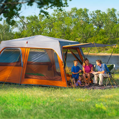 Campvalley™ Instant Tent Deluxe Edition, 8 Person