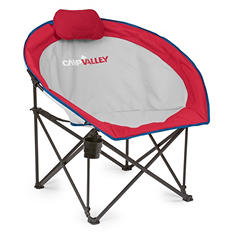 Campvalley Oversized Round Camp Chair, Assorted Colors
