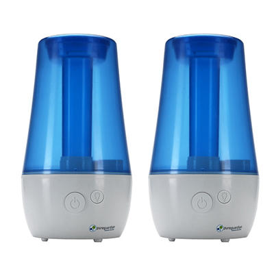 1-Gallon Ultrasonic Cool Mist Humidifier  (2 pk.)