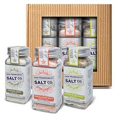 Gourmet Sea Salt Shaker Gift Set