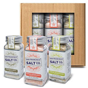 Gourmet Sea Salt Shaker Gift Set