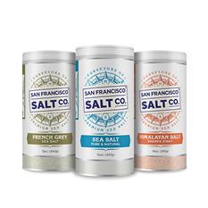 Professional Size Trio Sea Salt Set