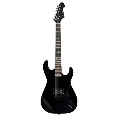 Spectrum AIL 50MB ? Solid Body Full Size Electric Guitar ? Matt Black Finish