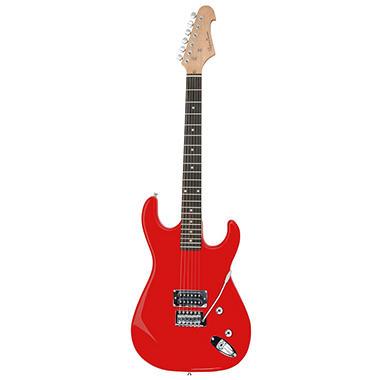 Spectrum AIL 51R – Solid Body Full Size Electric Guitar – High Gloss Red