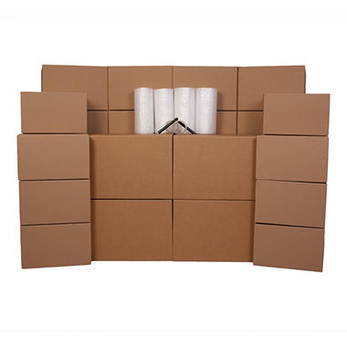 PACK-RAT 3-4 Room Moving Kit