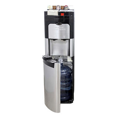 Estratto Commercial Single Cup Coffee Maker & Stainless Steel Water Cooler