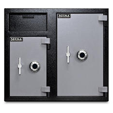 Mesa Depository Safe, All Steel, 6.7 Cubic Feet (choose delivery method)