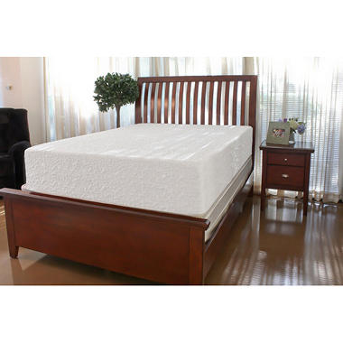 "Sharper Image 12"" Premium Plush Mattress - Queen"