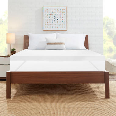 "ComforZen 3"" Gel Memory Foam Queen Mattress Topper"