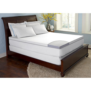 "ComforZen GelFuse Gel Memory Foam 2.5"" Mattress Topper - Starting at $69.98*"