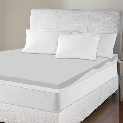 "4"" Contour Memory Foam Topper - Various Sizes"