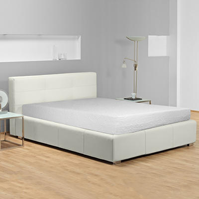 "Sharper Image 14"" Gel Glaze Memory Foam Queen Mattress"