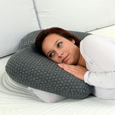 The Sharper Image Body Arc Gel Memory Foam Pillow