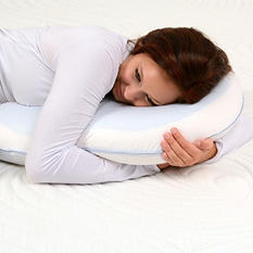 The Sharper Image Cuddling Memory Foam Pillow