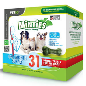 Minties Dental Dog Treats (31 ct.)