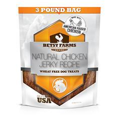 Betsy Farms Chicken Jerky Dog Treats - 48 oz.