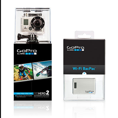 GoPro HD Hero2 Bundle with Wi-Fi BacPac