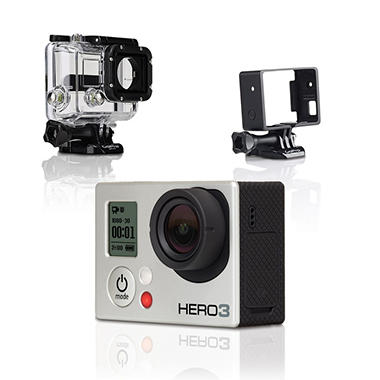 GoPro Full HD Hero3 Bundle: Silver Edition